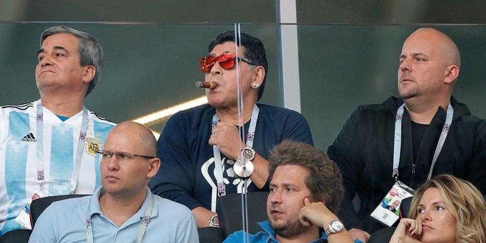 Maradona : Kau Tak Boleh Pulang Ke Argentina Sampaoli, Jika Argentina Kembali Imbang