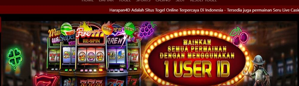 Harapan4d Bandar Togel Singapore Deposit Pulsa